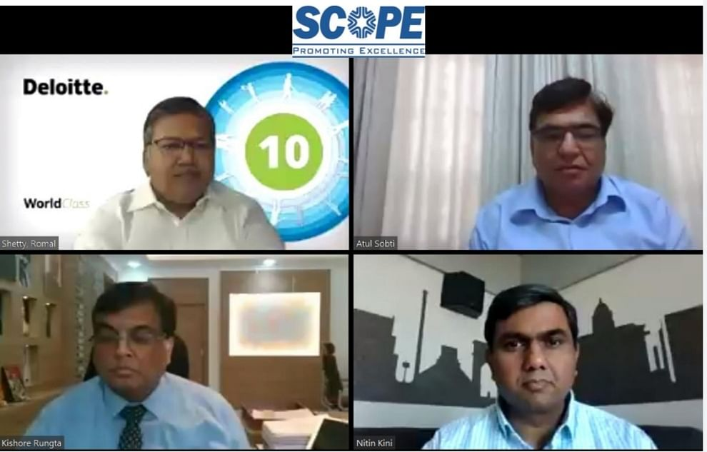 "SCOPE organises a webinar on ""Economic Impact of Covid -CPSEs Perspective"""