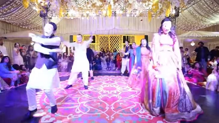 Watch: Pak couple performs on 'Bella Ciao' from Netflix's 'Money Heist' at mehendi ceremony