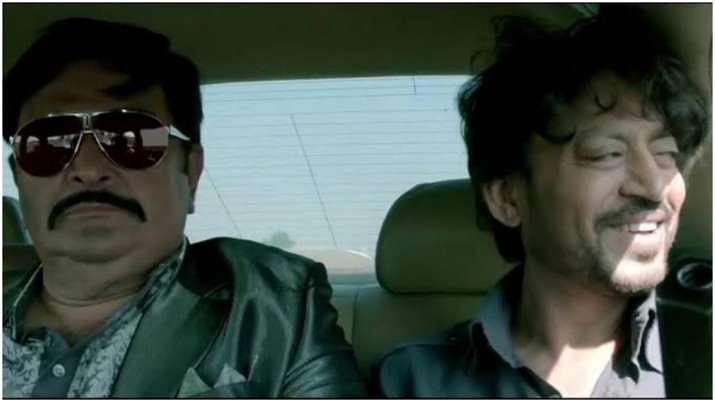 Rishi Kapoor and Irrfan Khan in a still from the movie D-Day