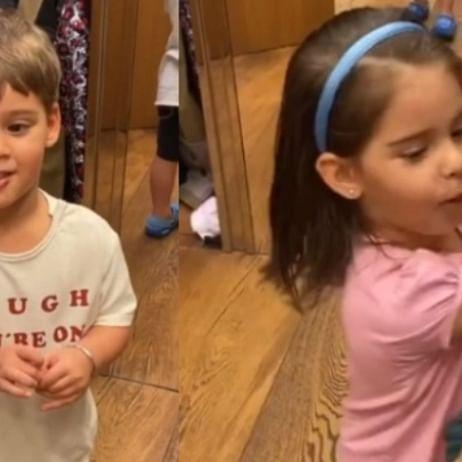 'Please make them your stylists': Karan Johar's twins Yash and Roohi turn into fashion critics in new video