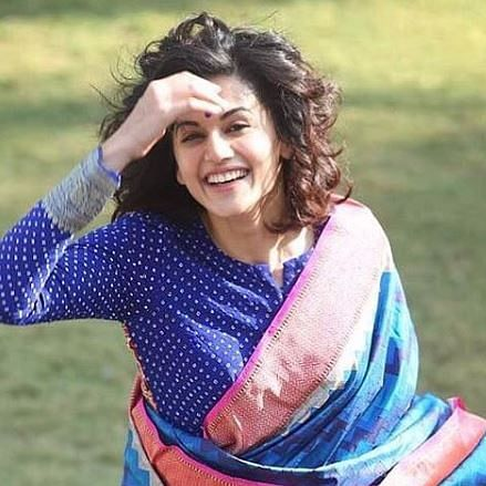 When Taapsee Pannu was concerned that her short hair wouldn't suit sarees