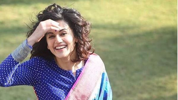 Actor Taapsee Pannu