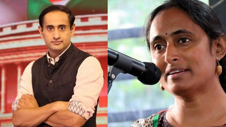 Kavita Krishnan lashes out at journalist Rahul Kanwal for 'his poison peddling shows'; #ThooRahulKanwalThoo trends on Twitter