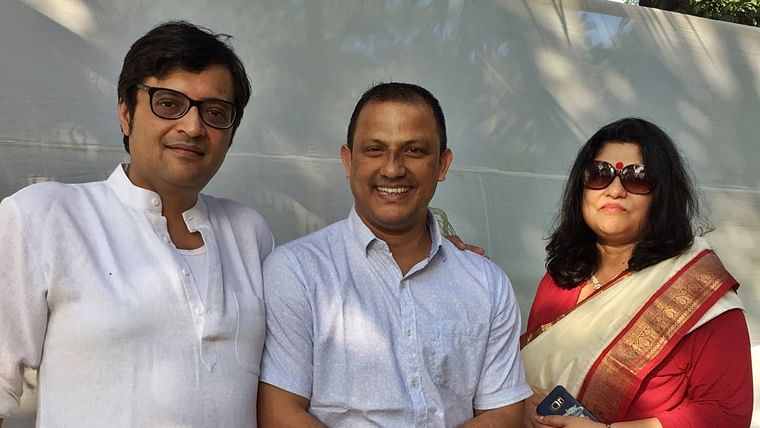 Who is Arnab Goswami's wife Samyabrata Ray? All you need to know about Republic TV editor