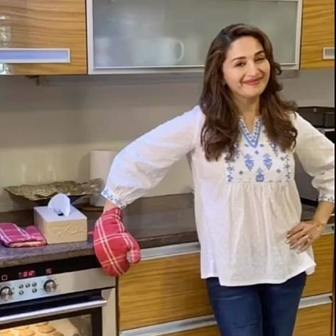 Madhuri Dixit-Nene shares recipe of her favourite chocolate chip cookies with ginger