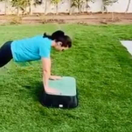 Watch: Preity Zinta's workout video with Bruna is every pet owner's woe