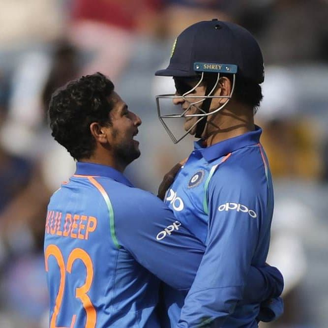 Didn't miss my coach because of MS Dhoni: Kuldeep Yadav