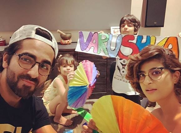 Ayushmann Khurrana shares picture of daughter's birthday celebration amid lockdown