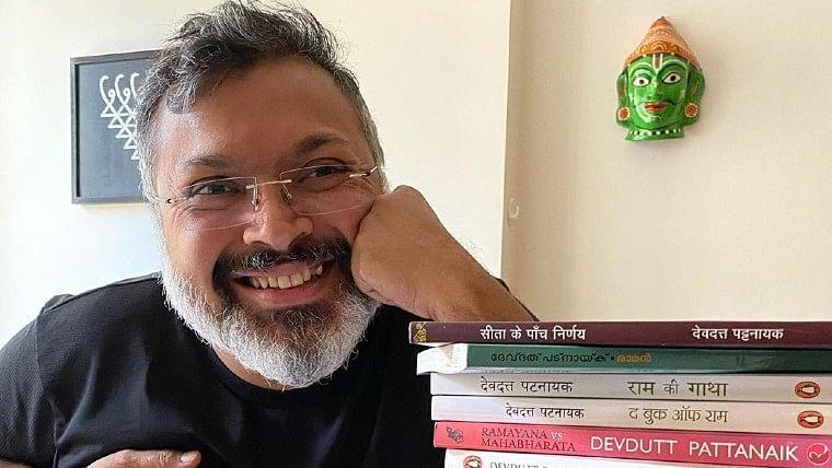 Devdutt Pattanaik aims lame man-woman joke at Lord Ram, Krishna, Muhammad, Jesus and other Gods; Twitter says 'blasphemy'