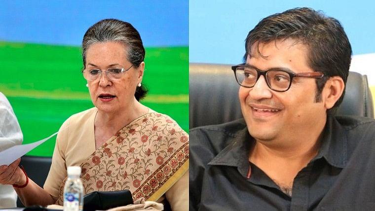 Palghar Sadhu Lynching: Arnab Goswami accuses Sonia Gandhi of being silent, #ArrestAntiIndiaArnab trends