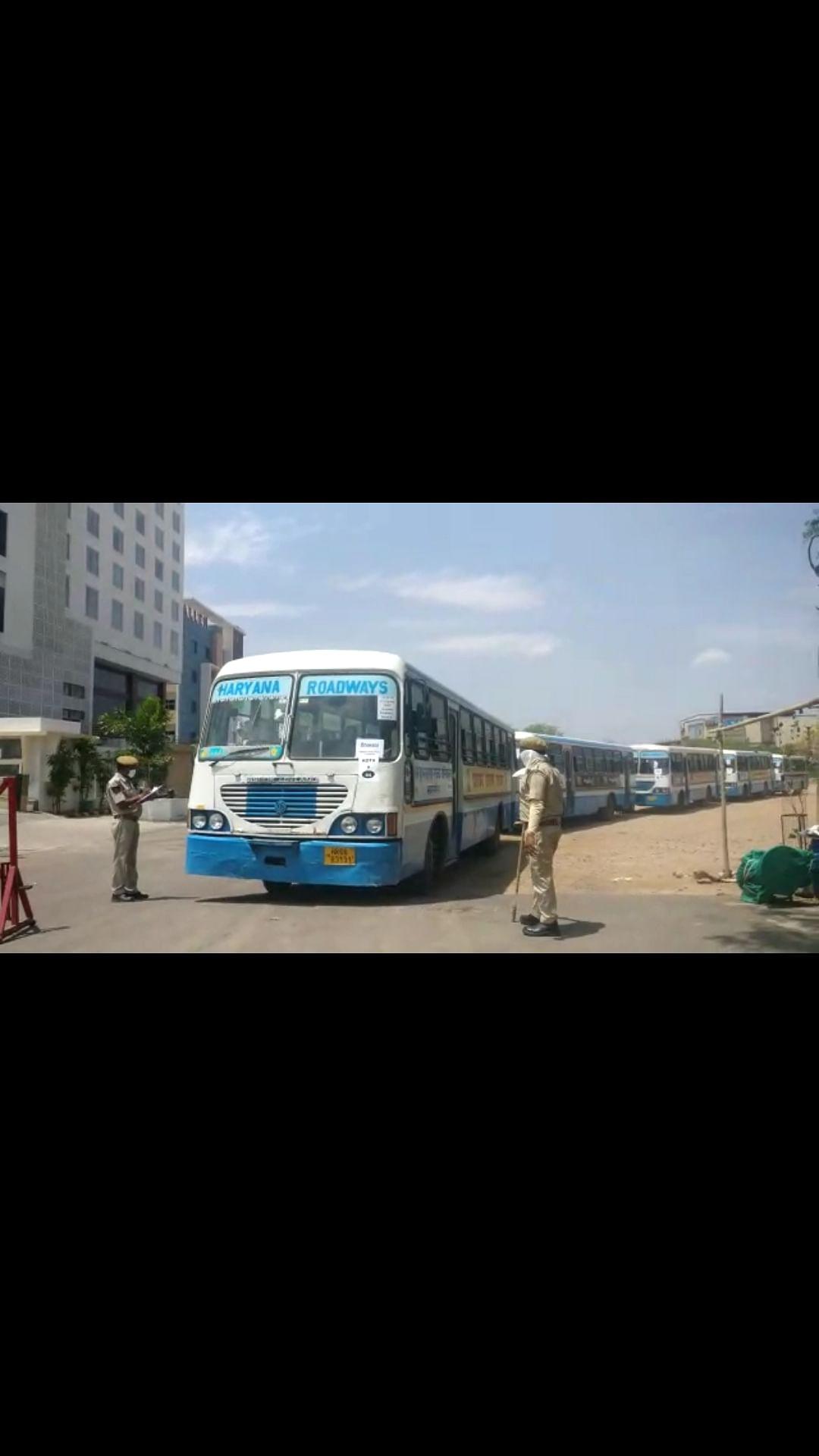 Stranded in Kota amid lockdown, Assam and Haryana students head back home
