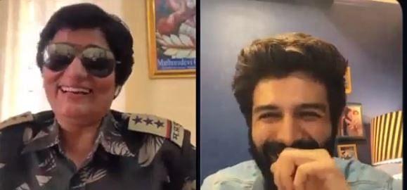 Kartik Aaryan to chat with police personnel on episode 3 of 'Koki Poochega'