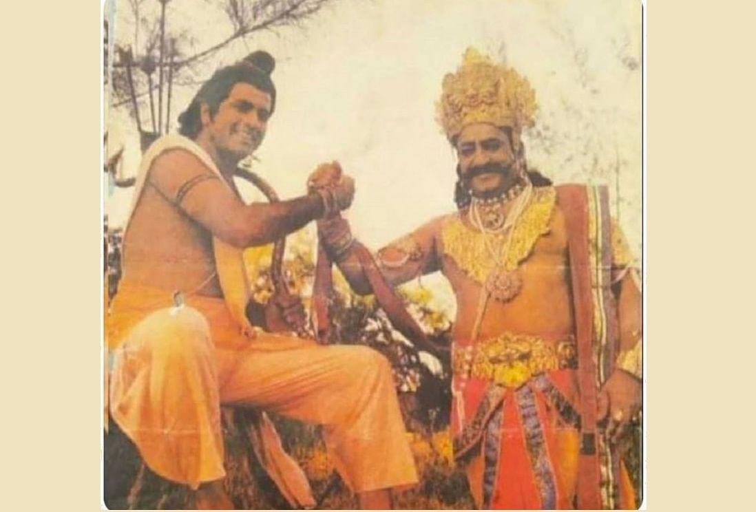 #RavanOnTwitter trends as Ramayana's Ravan aka Arvind Trivedi joins Twitter