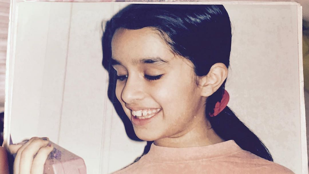Shraddha Kapoor shares throwback childhood picture with 'bunny teeth'