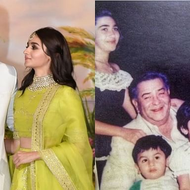 Alia Bhatt is all hearts for Ranbir Kapoor's childhood picture shared by Karisma