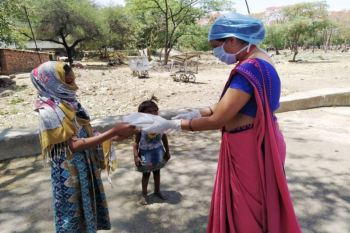 Madhya Pradesh: Ratlam witnesses 'Nari Shakti' as frontliners against coronavirus pandemic