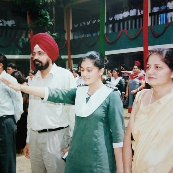 'Major throwback': Taapsee Pannu reminisces school days, shares pic from the day her dream came true