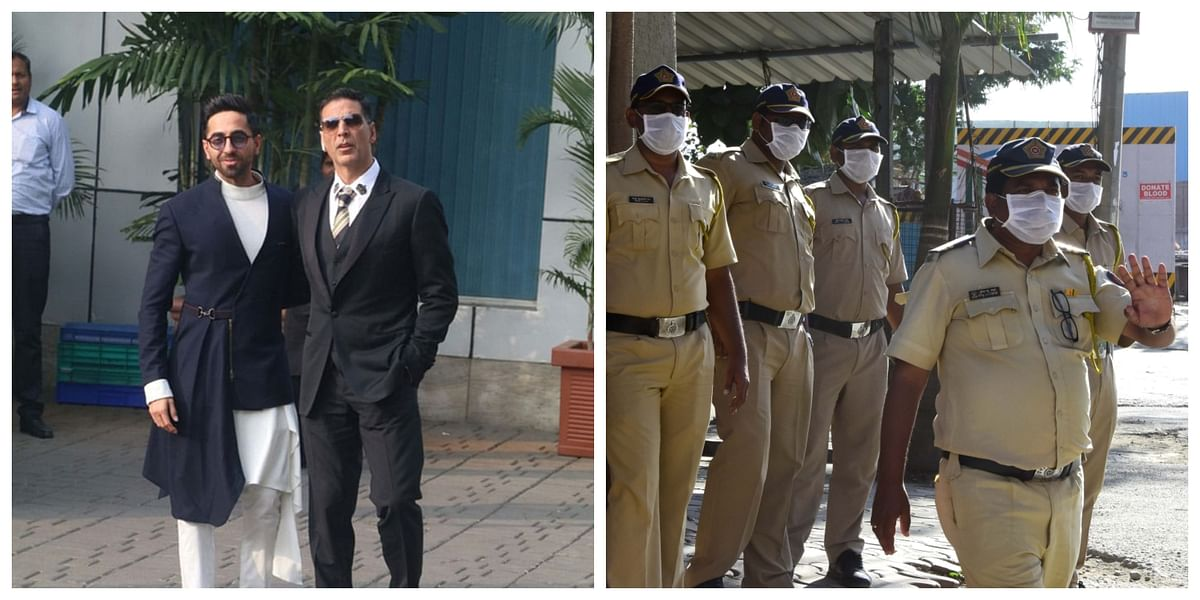Akshay Kumar, Ayushmann Khuranna and other Bollywood stars thank Mumbai Police for their service amid coronavirus lockdown