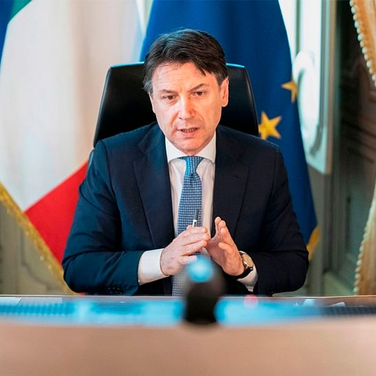 Italy's cabinet passes 55 billion euro package to relaunch economy