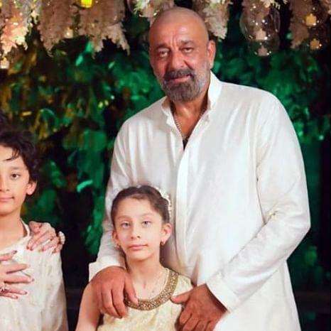 Sanjay Dutt's wife Maanyata, twins Shahraan and Iqra stuck in Dubai amid coronavirus pandemic