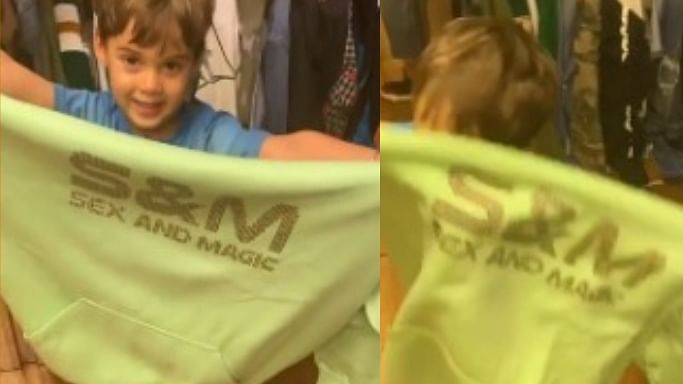 Karan Johar 'embarrassing' moment on camera: Son Yash flashes his 'Sex and Magic' hoodie