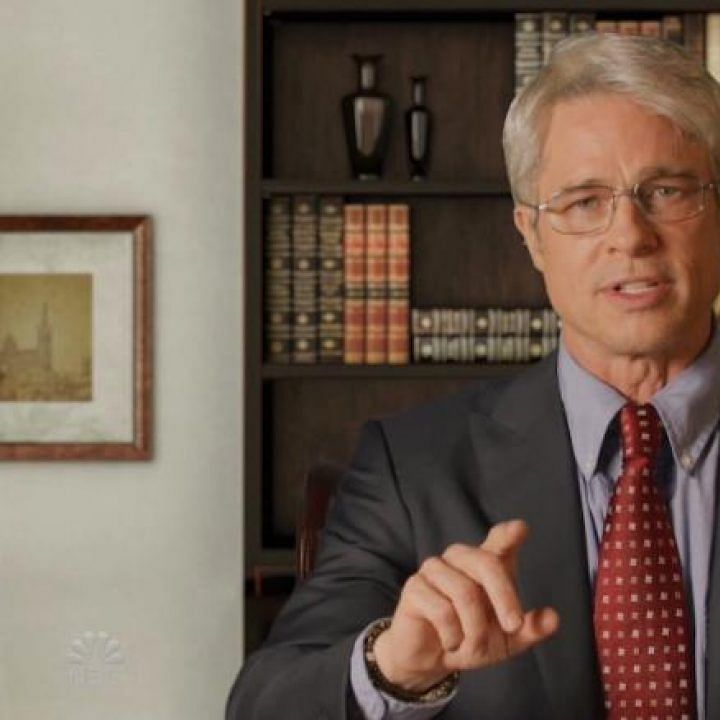 Brad Pitt turns Dr Anthony Fauci on 'Saturday Night Live at Home'