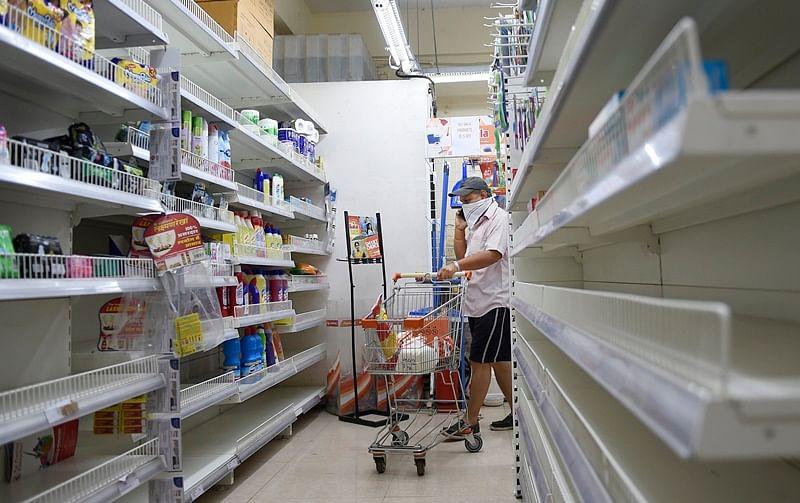Coronavirus in Mumbai: Panic buying leaves store shelves as bare as Old Mother Hubbard's cupboard