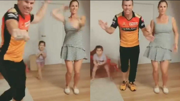 Can't take the boy out of Hyderabad: Watch David Warner and family groove to popular Telugu song ButtaBomma