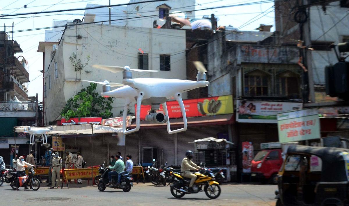 Coronavirus in Uttar Pradesh: Drones to keep Covid watch in six cities