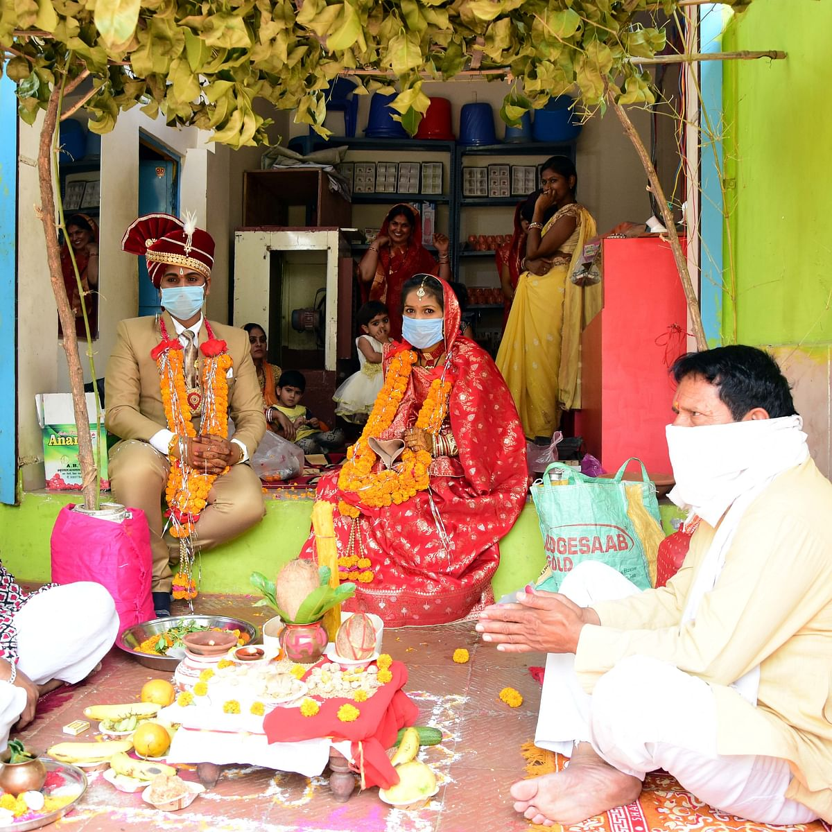 Bhopal: Love knows no boundaries proves as couples tie knot amid the lockdown