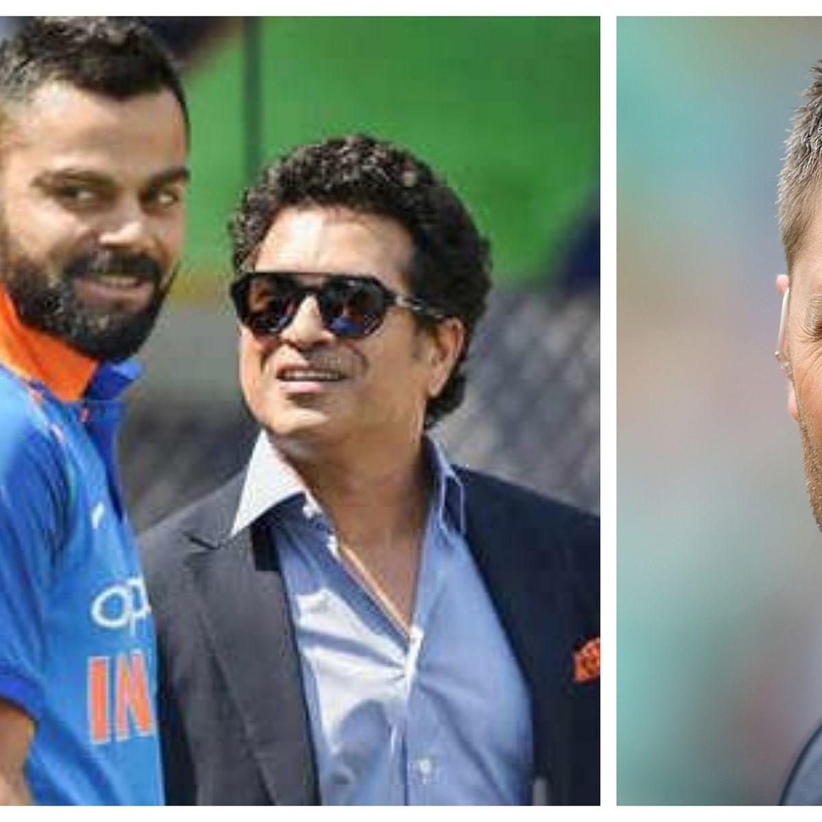 Sachin Tendulkar, Virat Kohli find spot in Michael Clarke's list of greatest batsmen list