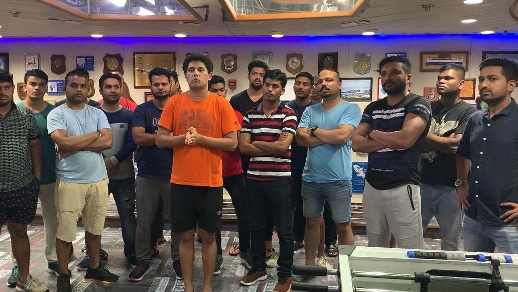 Mumbai: Finally, 146 Indian sailors make it home