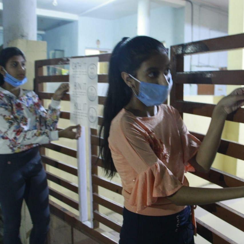 Ujjain: Taking care of special children during lockdown