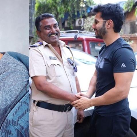 Varun Dhawan shares a 'handshake' picture to laud policemen amid coronavirus lockdown