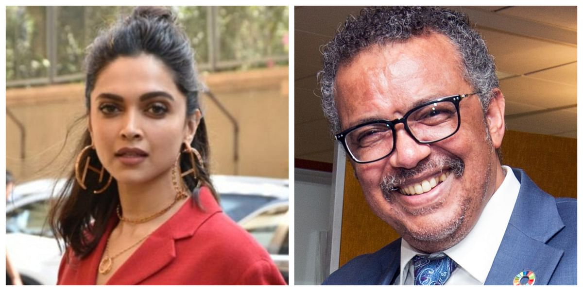 Deepika Padukone, Dr Tedros Adhanom's talk session on mental health put on hold