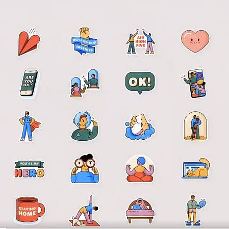 WhatsApp partners WHO to create 'Together at Home' sticker pack