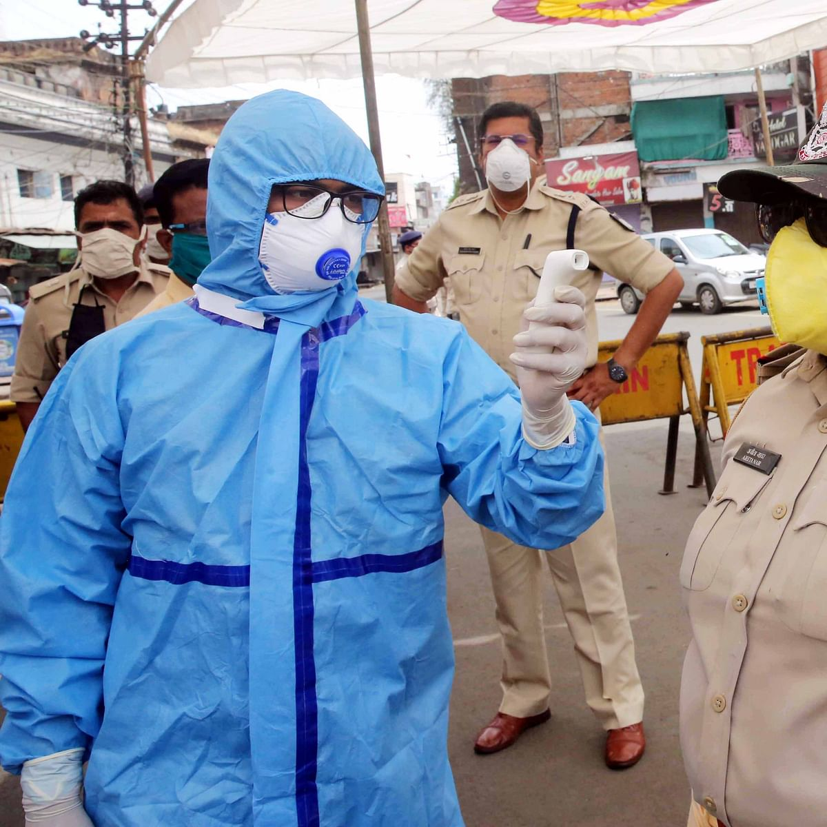 Indore: Two policemen test positive to coronavirus