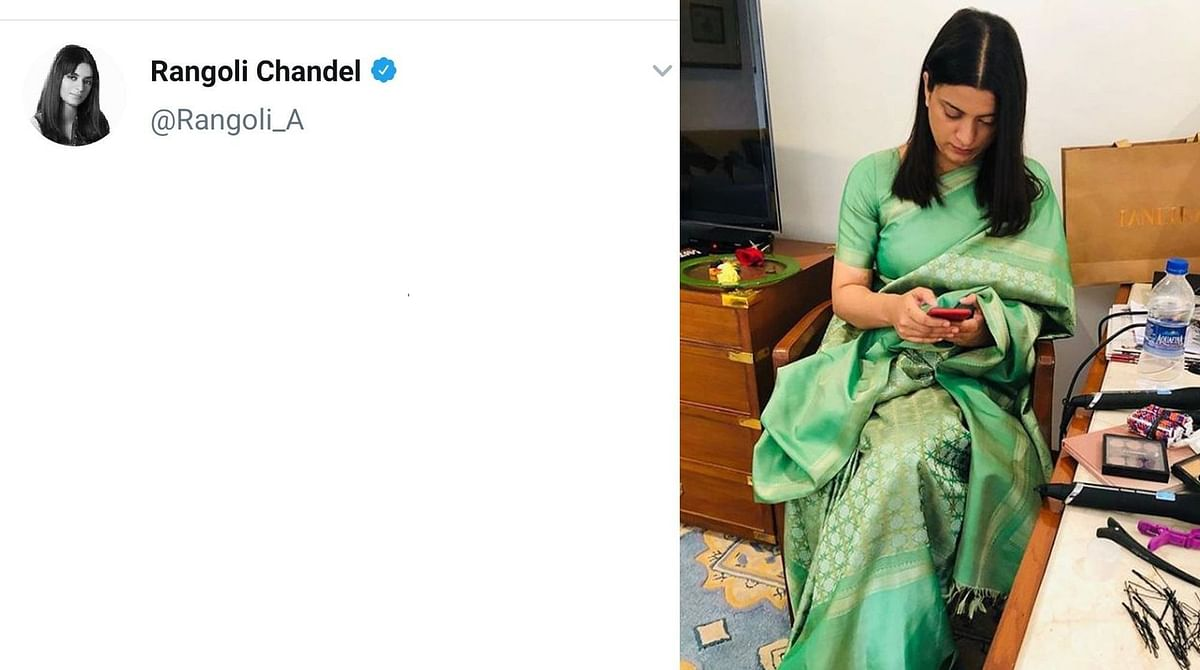 Why Rangoli Chandel's Twitter handle was suspended