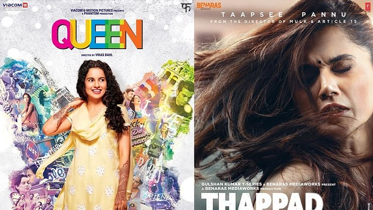 From 'Queen' to 'Thappad': Bollywood films to help understand your relationship woes amid quarantine