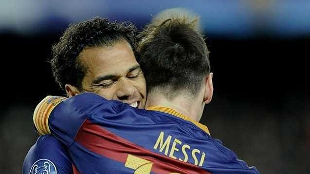'We connected immediately, without knowing each other': Dani Alves on playing with Lionel Messi