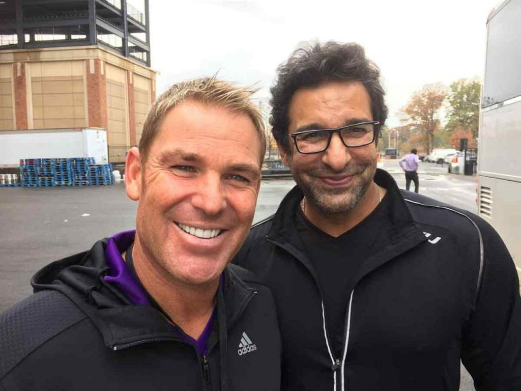 Shane Warne names Wasim Akram captain of his Pakistan XI team