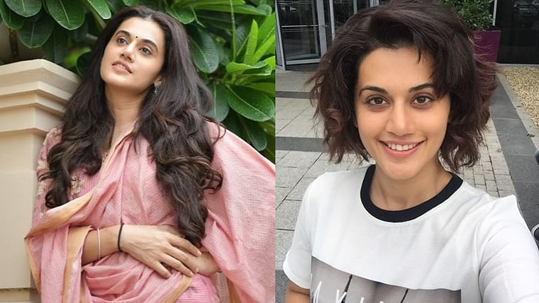 Did Taapsee Pannu chop off her hair amid quarantine?