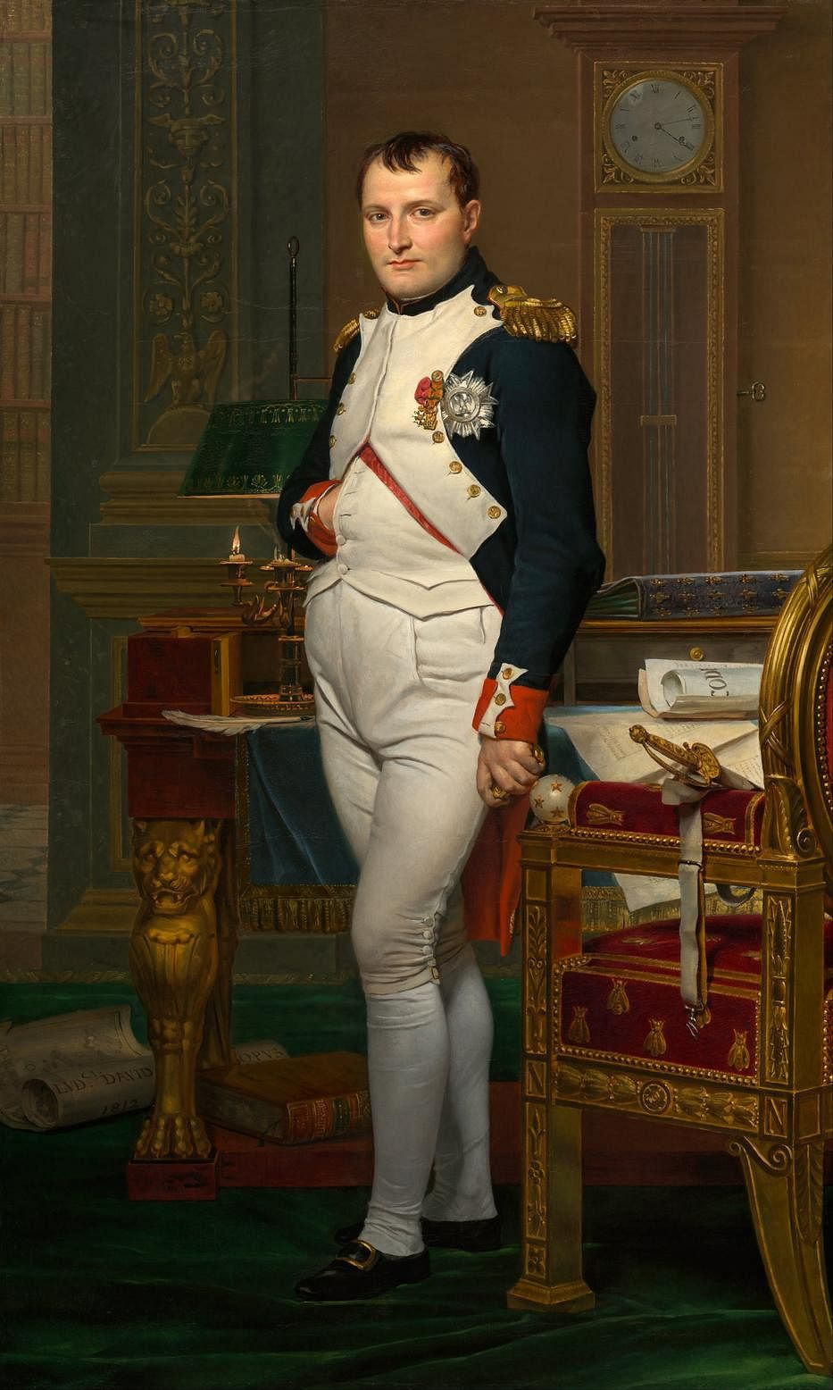 French emperor, Napoleon Bonaparte