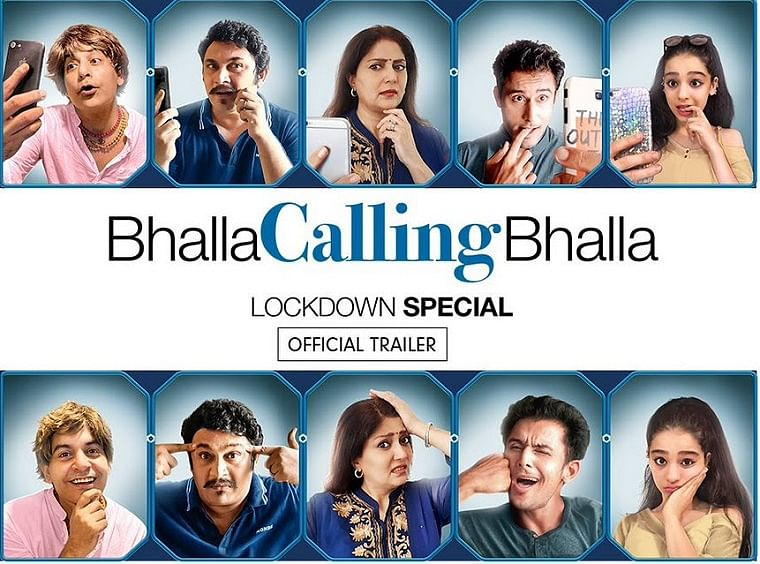 Bhalla Calling Bhalla web series review: A hilarious look at life in lockdown