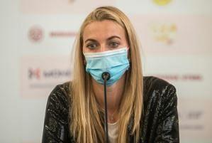 Kvitova slams Grand Slam without fans