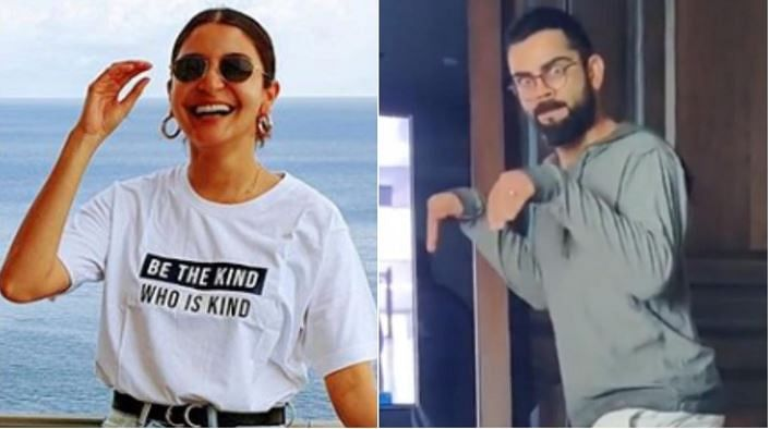 Anushka shares  hilarious Kohli's video