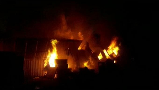Fire breaks out in Nashik factory, 10 fire tenders at the spot