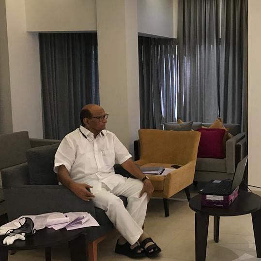 12 of 50 staffers at Sharad Pawar's Mumbai residence test COVID-19 positive