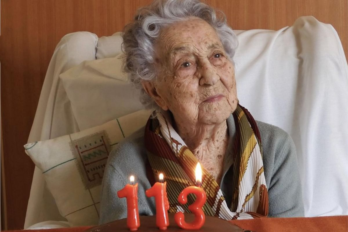 Meet world's oldest COVID-19 survivor, 113-year-old woman from Spain
