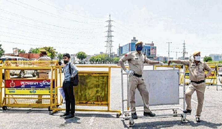 Haryana issues fresh orders of sealing borders with Delhi